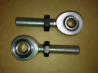 "Aluminum Rod End Set 1/2"" 3/8"""
